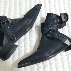 FP x Jeffery Campbell Flat Road Western  Booties
